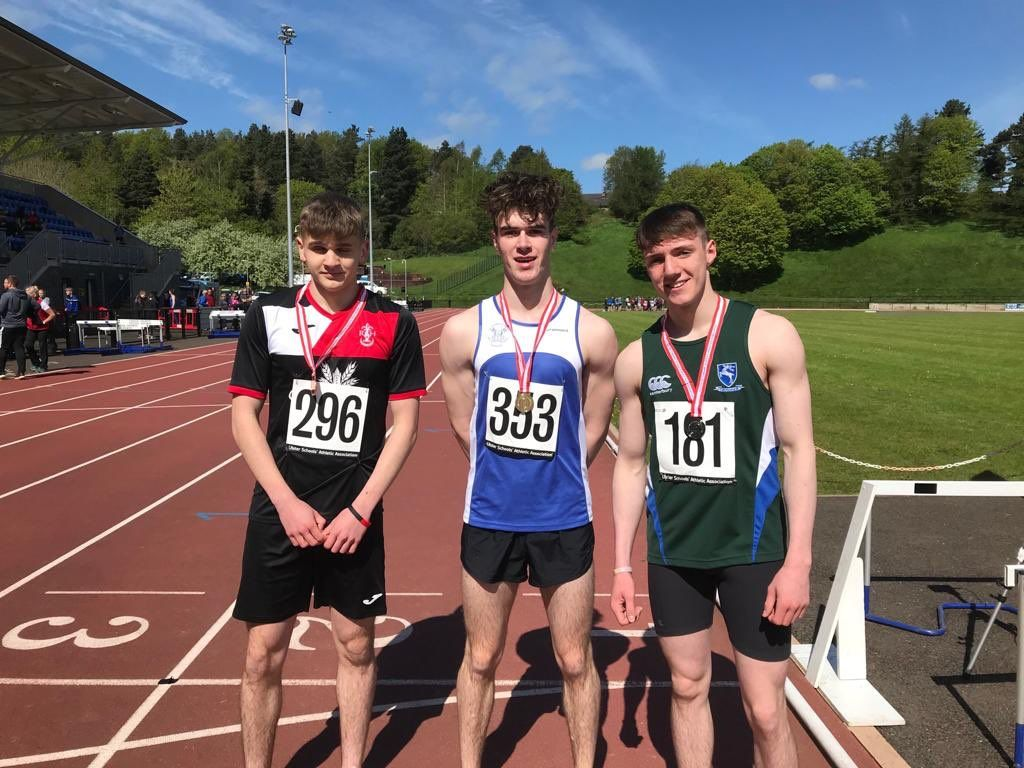 Conor O'Carroll wins gold at Down Districts