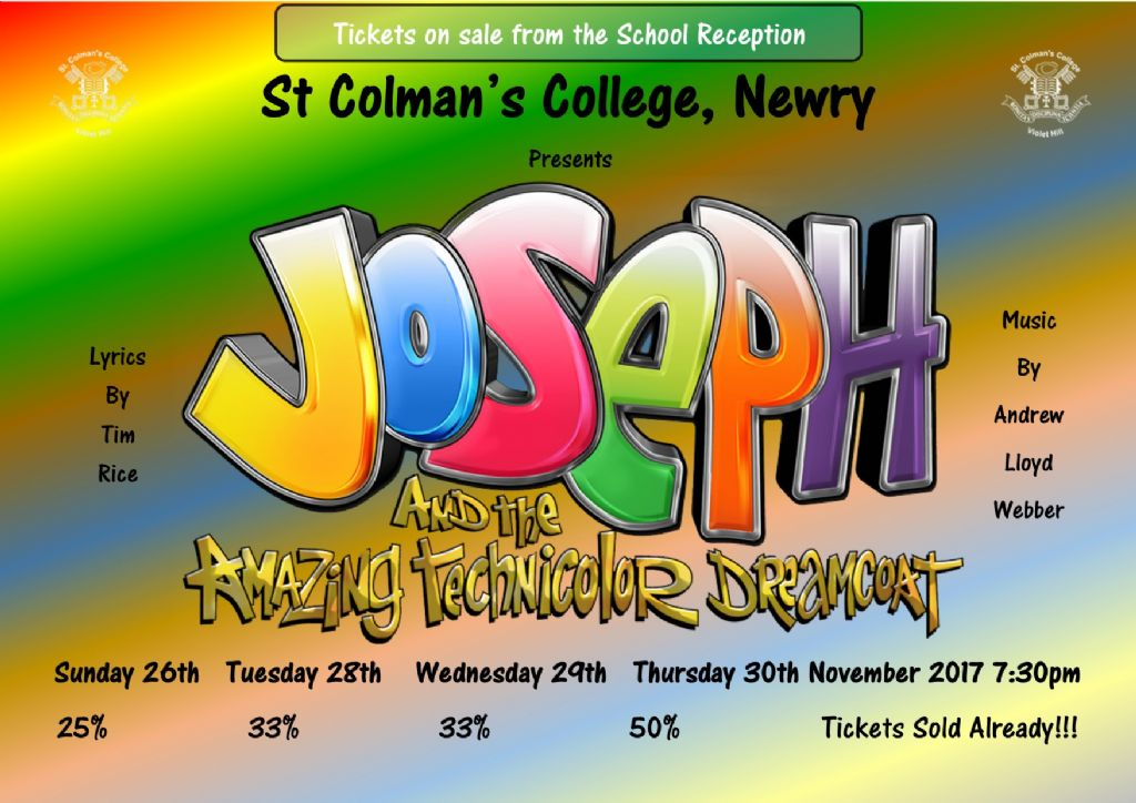 Tickets for Joseph selling fast