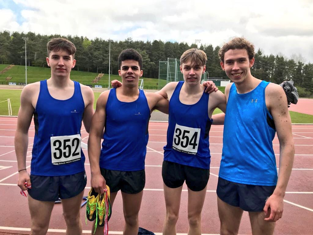 Excellent Performances at the Down Schools Track and Field Championships