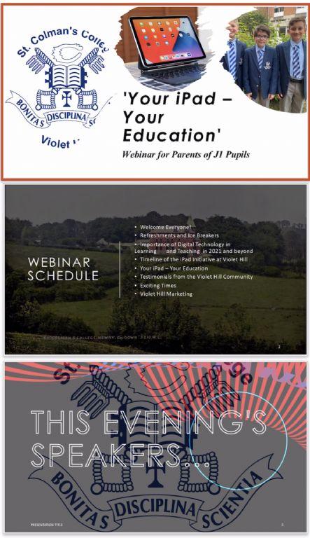 Your iPad - Your Education Webinar