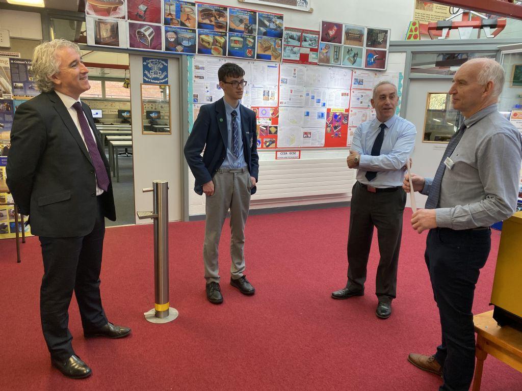 Michael McKey awarded prestigious Arkwright Scholarship