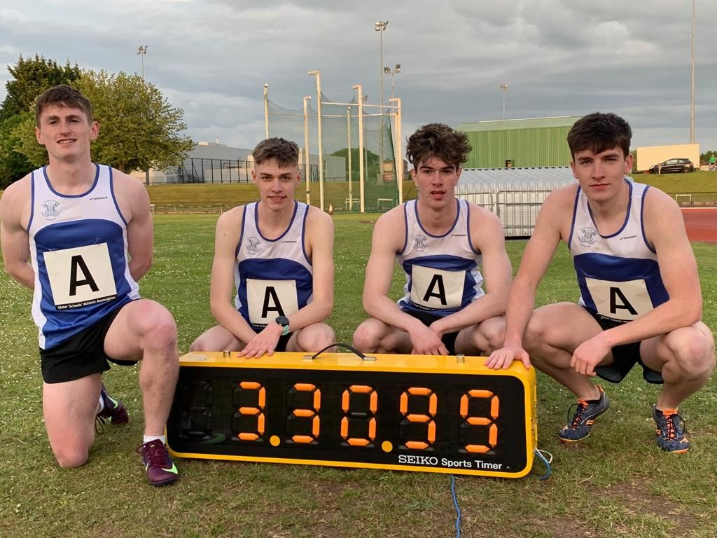 VHC Athletes SMASH Ulster Schools Record