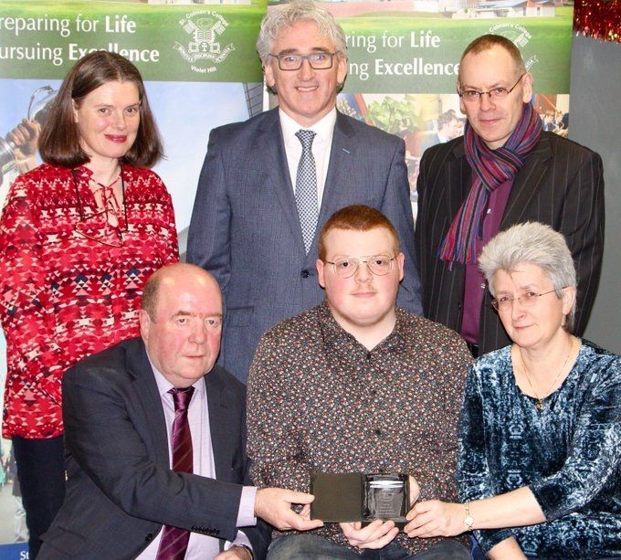 Conor McGlone celebrated for 3rd Place in NI in Music