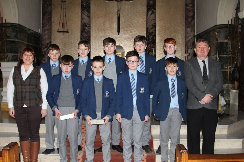 J2 pupils honoured for their achievements