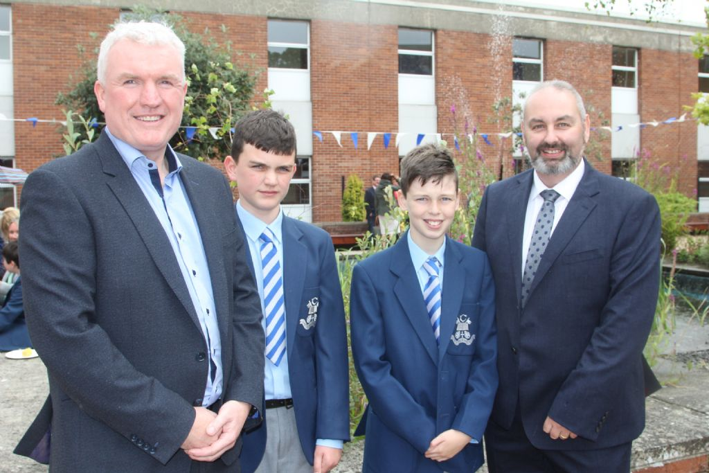 New J1 students welcomed to Violet Hill