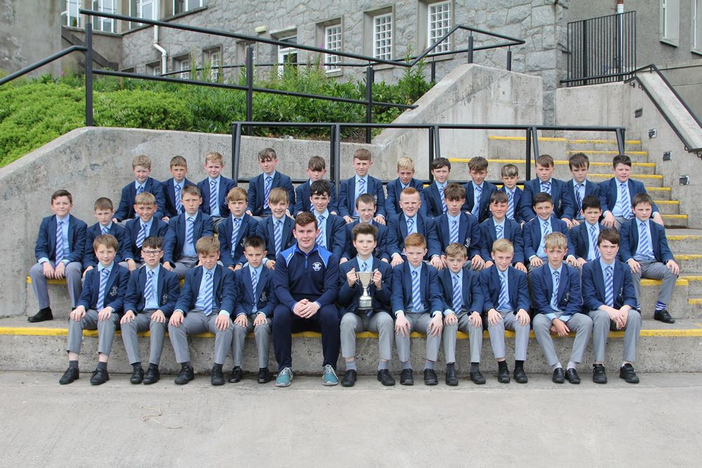 J1 Footballers win Year 8 Ulster Blitz