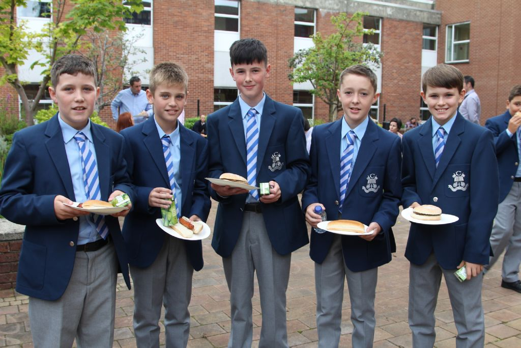 J1 pupils are formally inducted