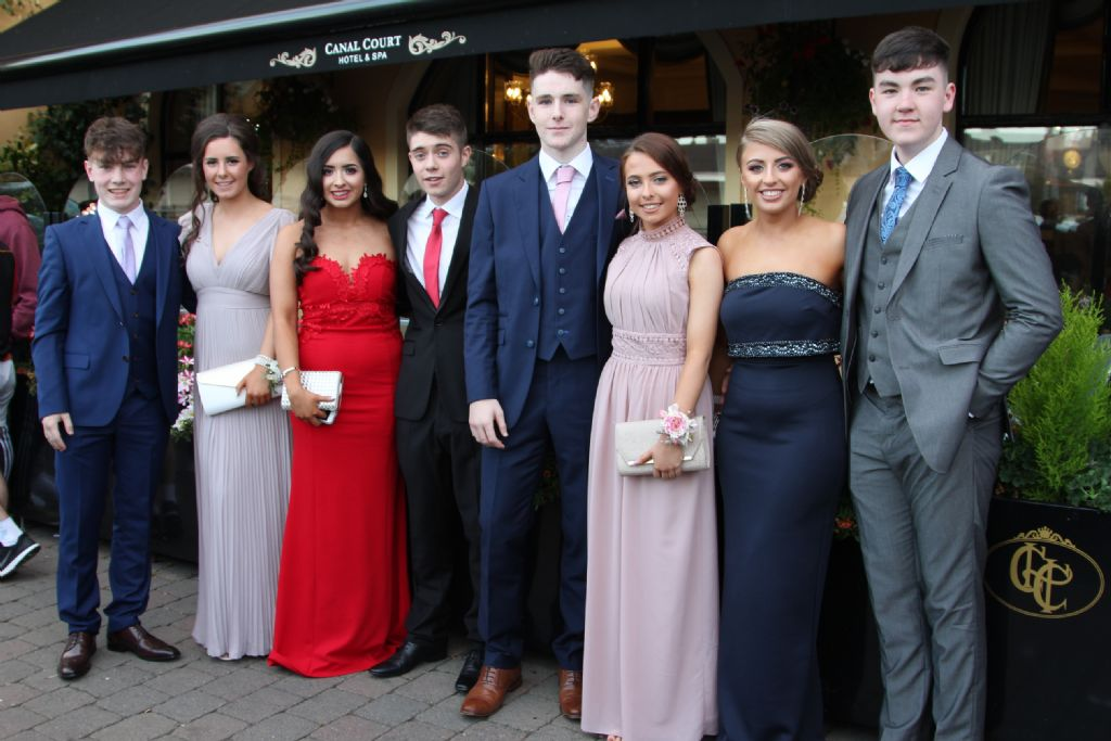 Students and their guests have a great time at College Formal