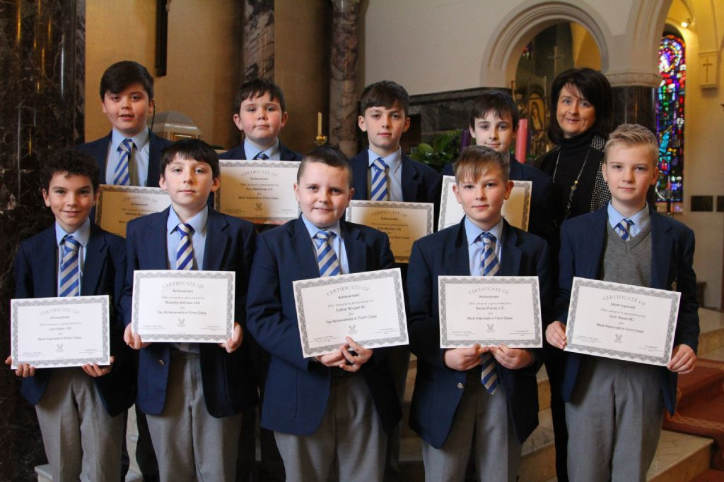 Well done to our fantastic J1 pupils