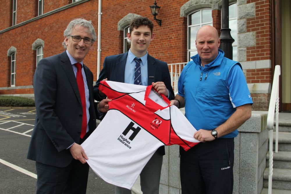 Evin Crummie starring for Ulster Rugby