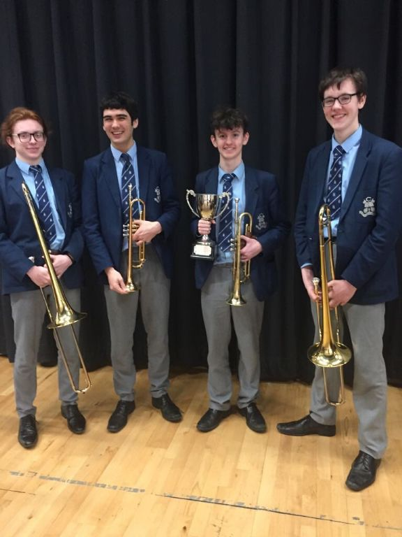 Brass Ensemble wins WJ Grant Memorial cup