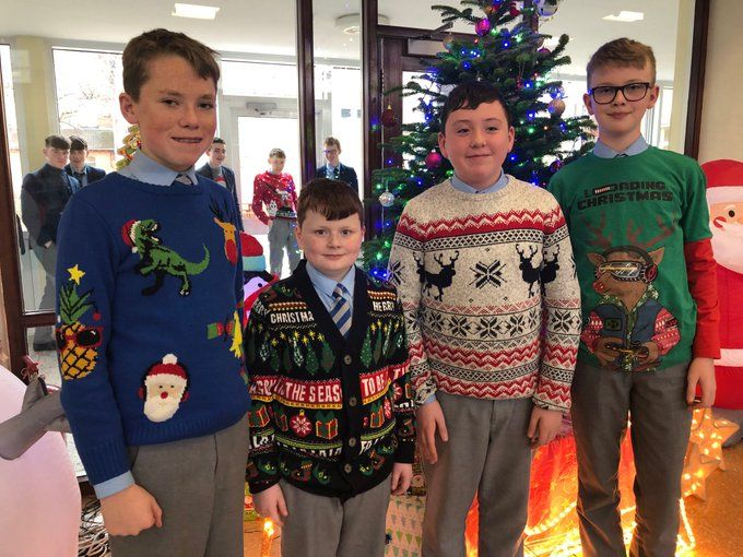 Christmas Jumper Day for Charity great fun