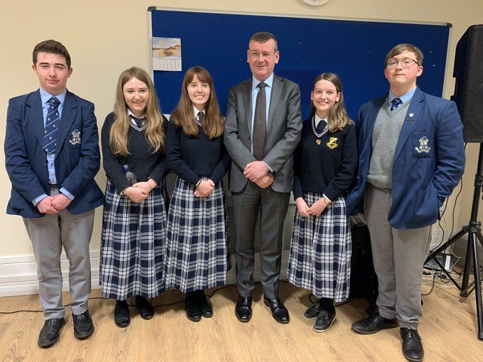 Past Pupil Francis Campbell Inspires