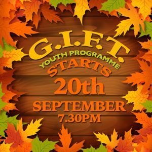 GIFT programme begins on the 20th September