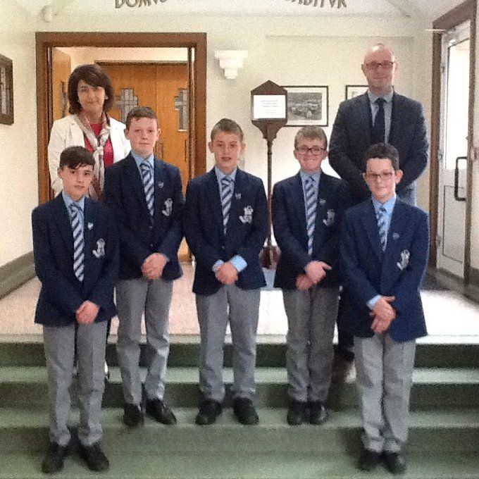 J1 Prefect Team Honoured