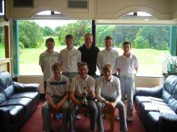 Violet Hill wins Golf League