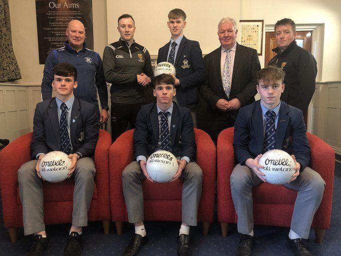 Down GAA Sponsors footballs ahead of MacRory Final 2020