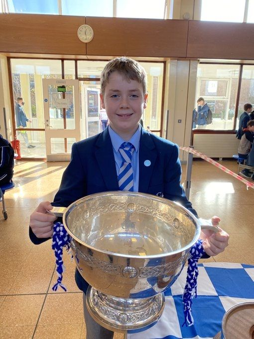 Junior students get their hands on Coveted MacRory Cup