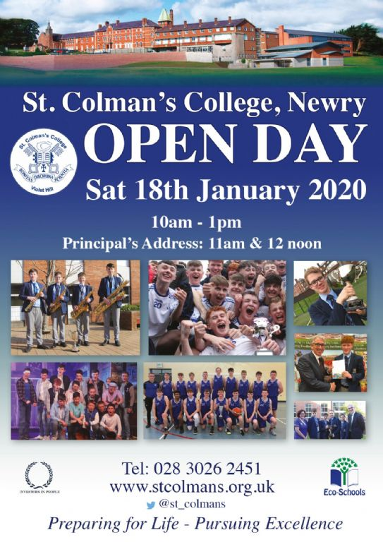 Open Day 2020 - Not to be missed!