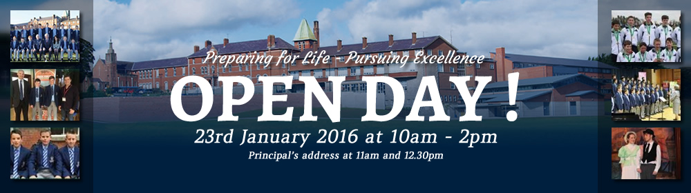 Open Day 2016 Banner