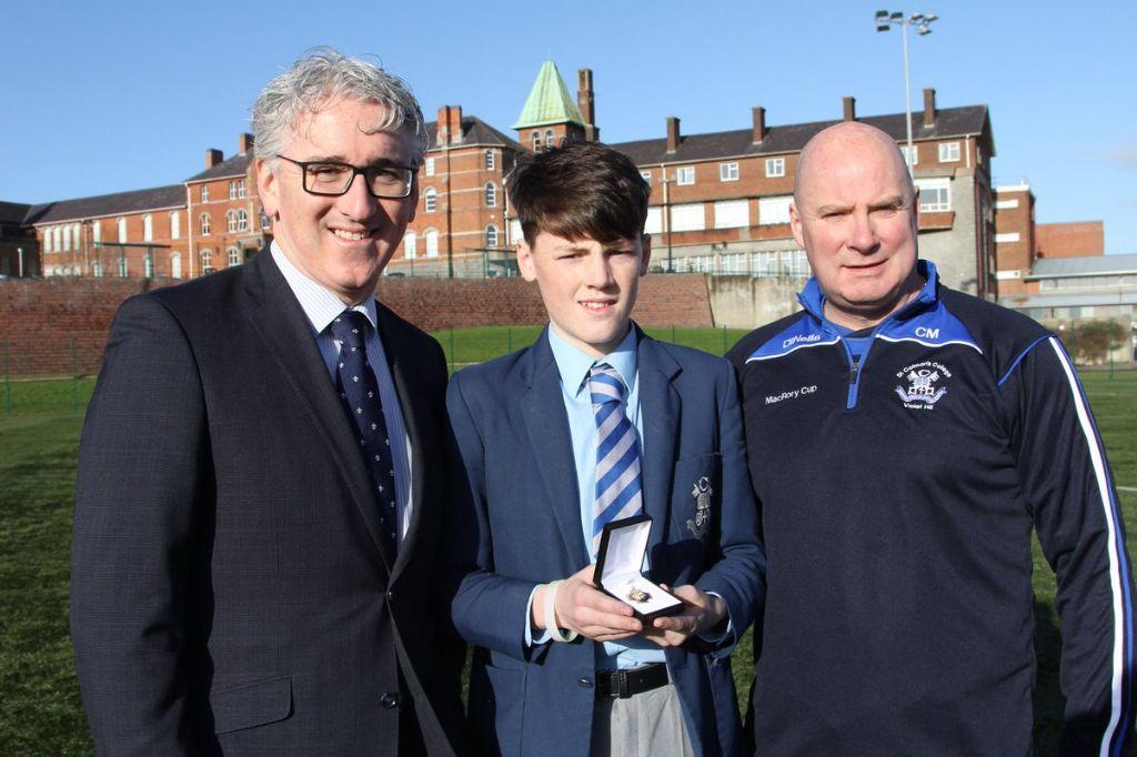 Patrick Cowan wins Ulster Handball title