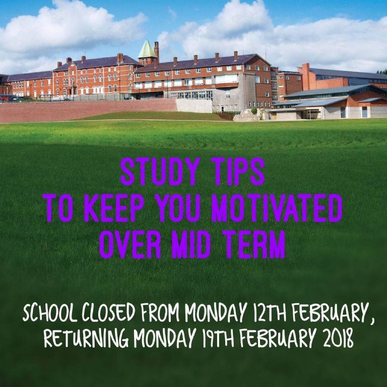 Mid Term 12-16th Feb: Staying ahead of the game when school's out!