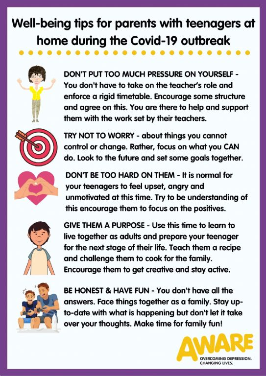 tips for parents home with teenagers
